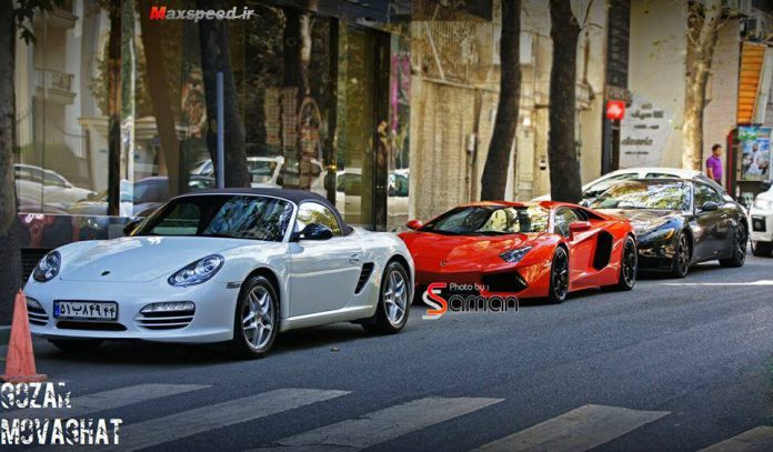 Supercars in Iran