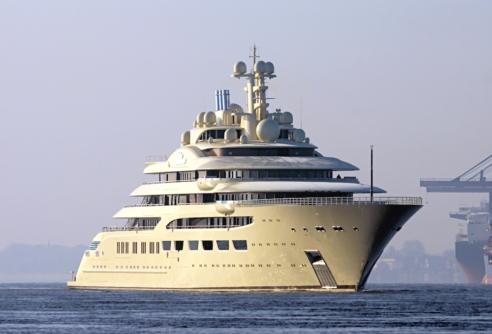 Lurssen Delivers 600 Million Superyacht Dilbar To Alisher Usmanov Gtspirit