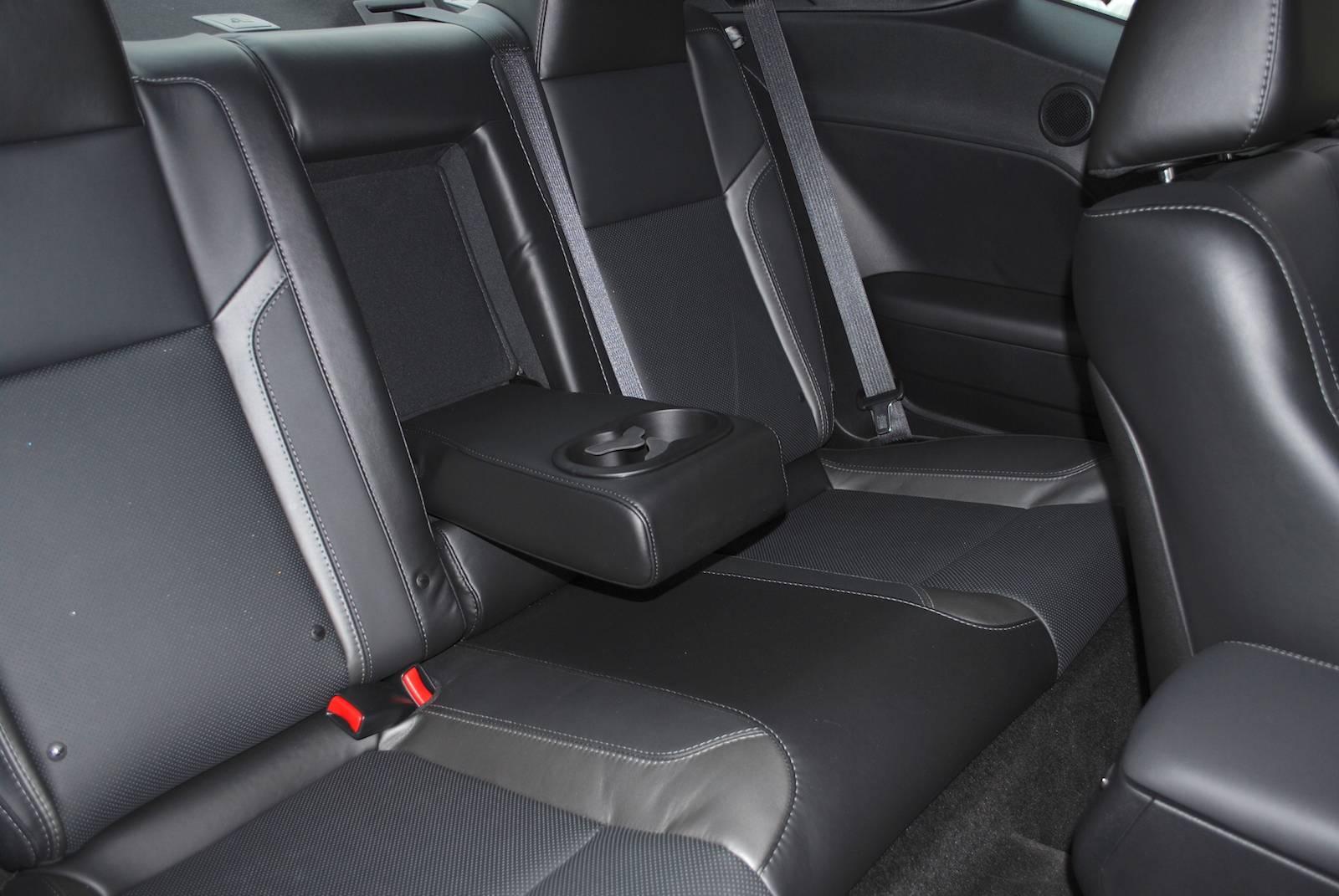 Dodge challenger interior backseat