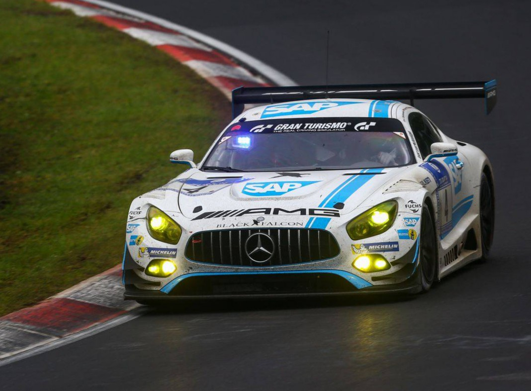 Nurburgring 24 hours mercedes ends audi spell with full for Mercedes benz hours