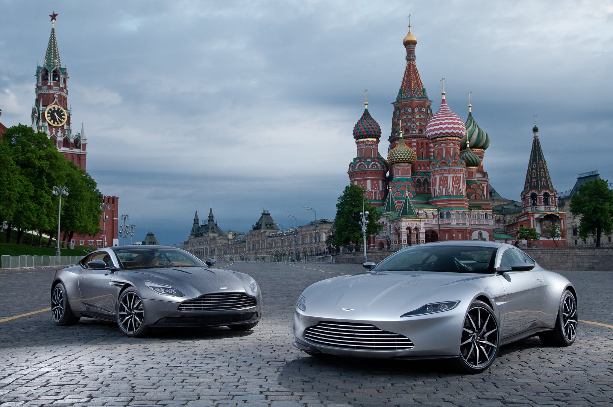 Photo Of The Day Aston Martin Db11 Meets Db10 In Moscow