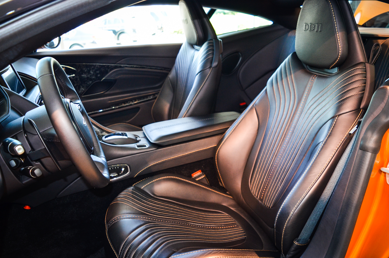 aston martin db11 touches down in calgary gtspirit. Black Bedroom Furniture Sets. Home Design Ideas