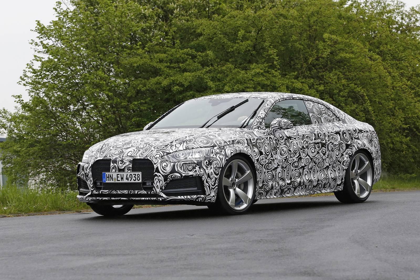 2018 Audi RS5 First Test Mule Spy Shots - GTspirit