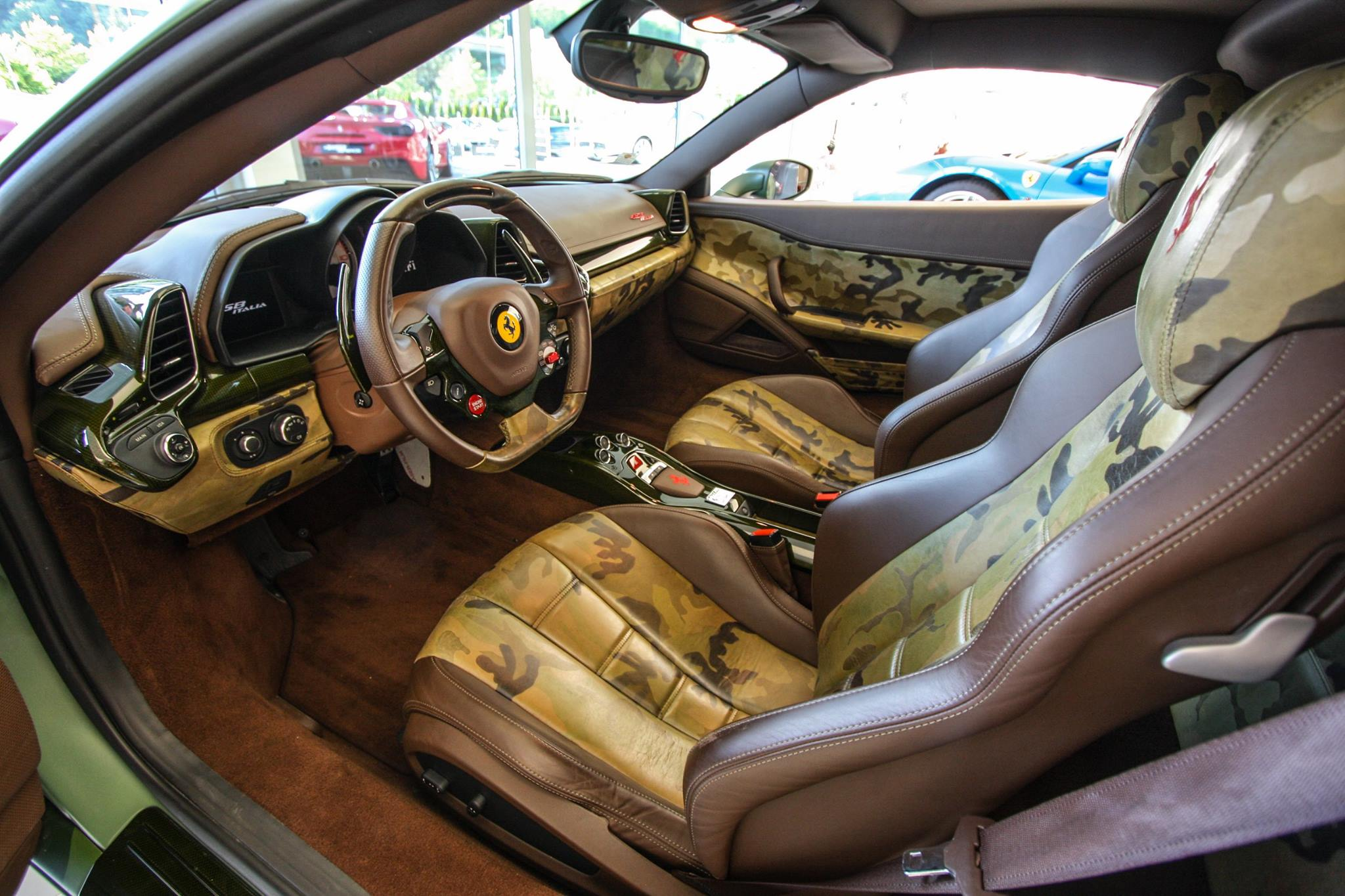 Ferrari 458 Italia For Sale >> Camo Ferrari 458 Italia Sells for $1.1 Million at AIDS Auction - GTspirit