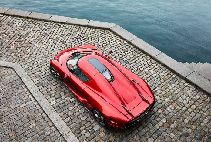 Candy Red Koenigsegg Regera (4)