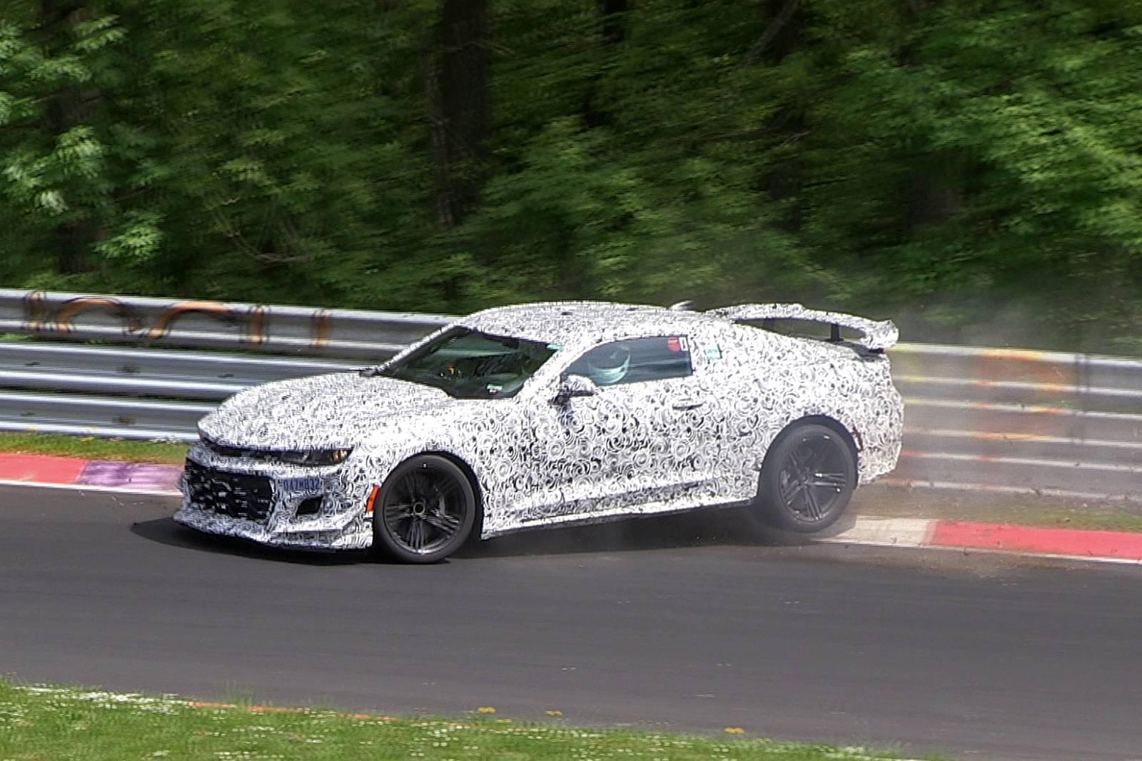 Video: 2017 Camaro Z/28 Crashes at the Nurburgring - GTspirit
