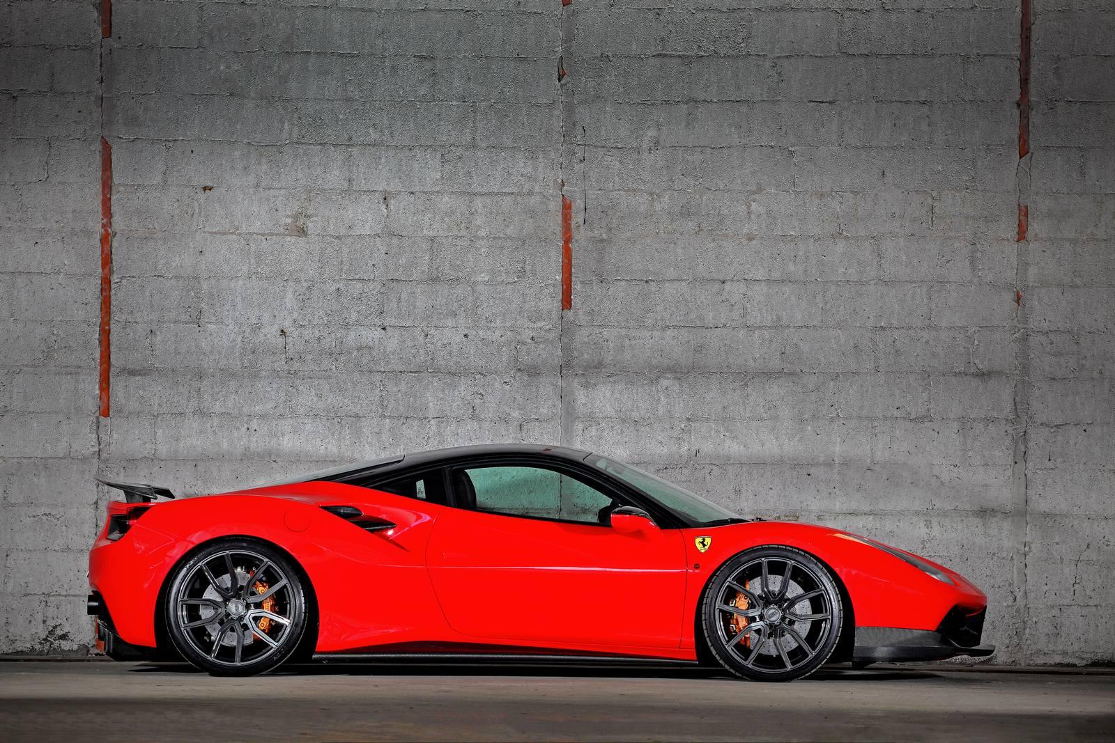 Official: 900hp Ferrari 488 GTB By VOS Performance