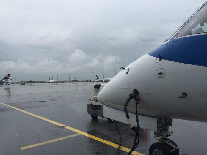Flight from Munich to Bergamo