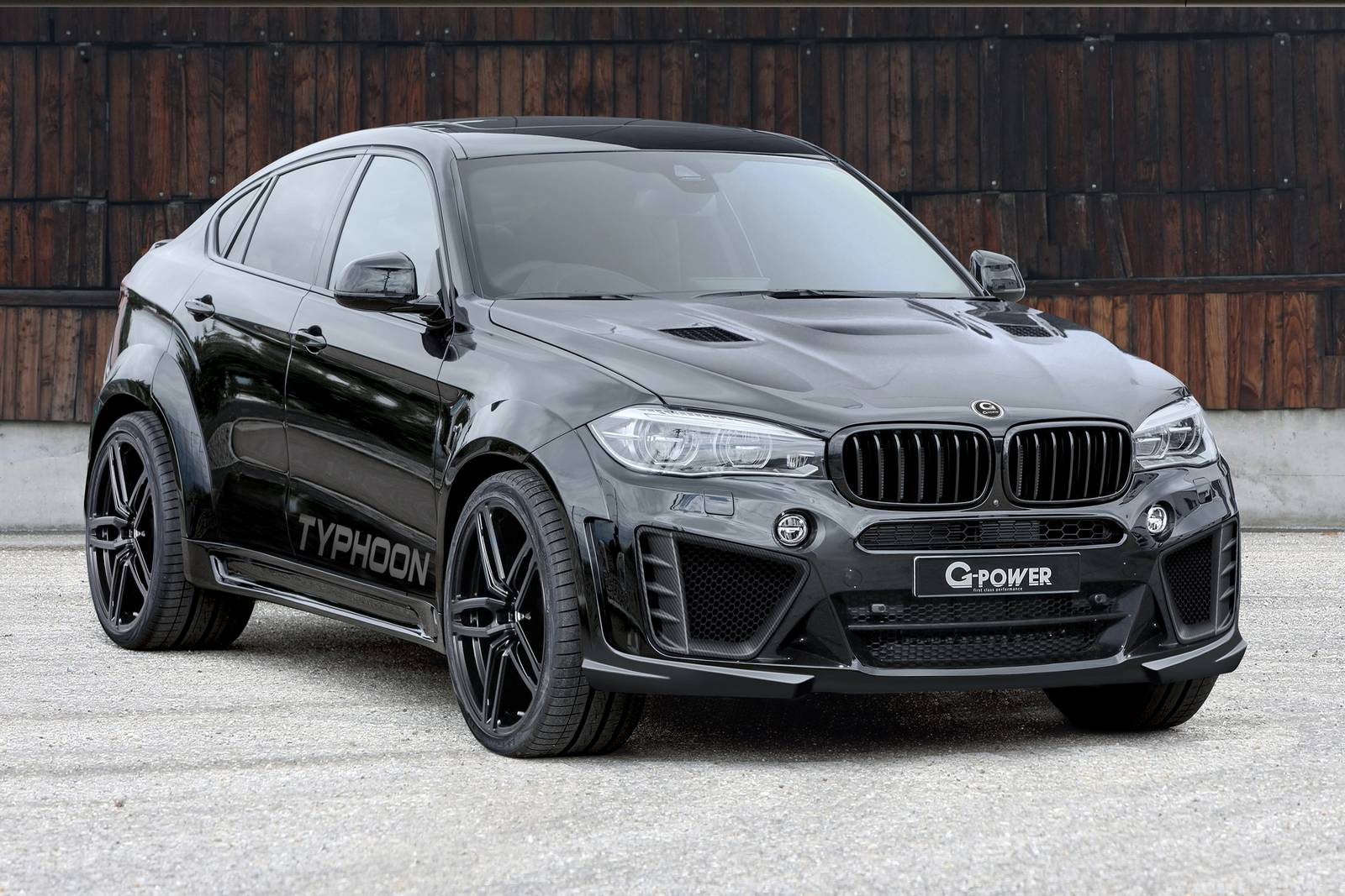 2012 BMW X6 M GPower Typhoon WideBody Z3Rides
