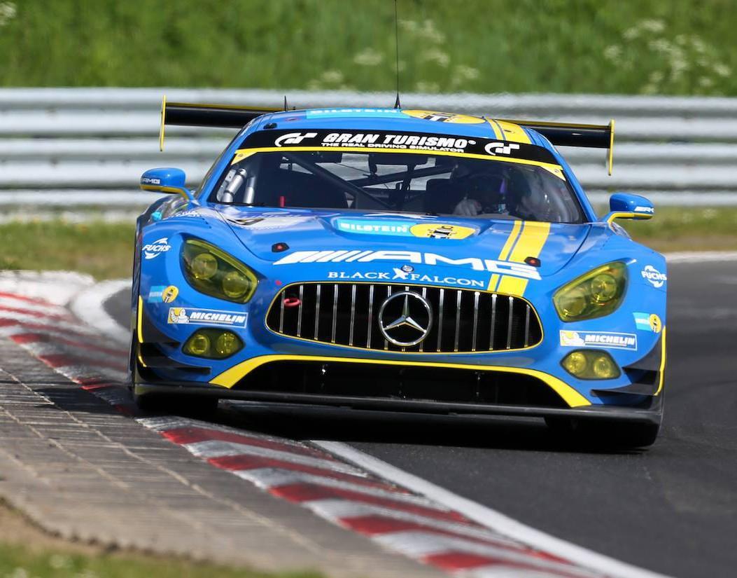 Black Falcon Mercedes Amg Gt3 Grabs Nurburgring 24 Hours