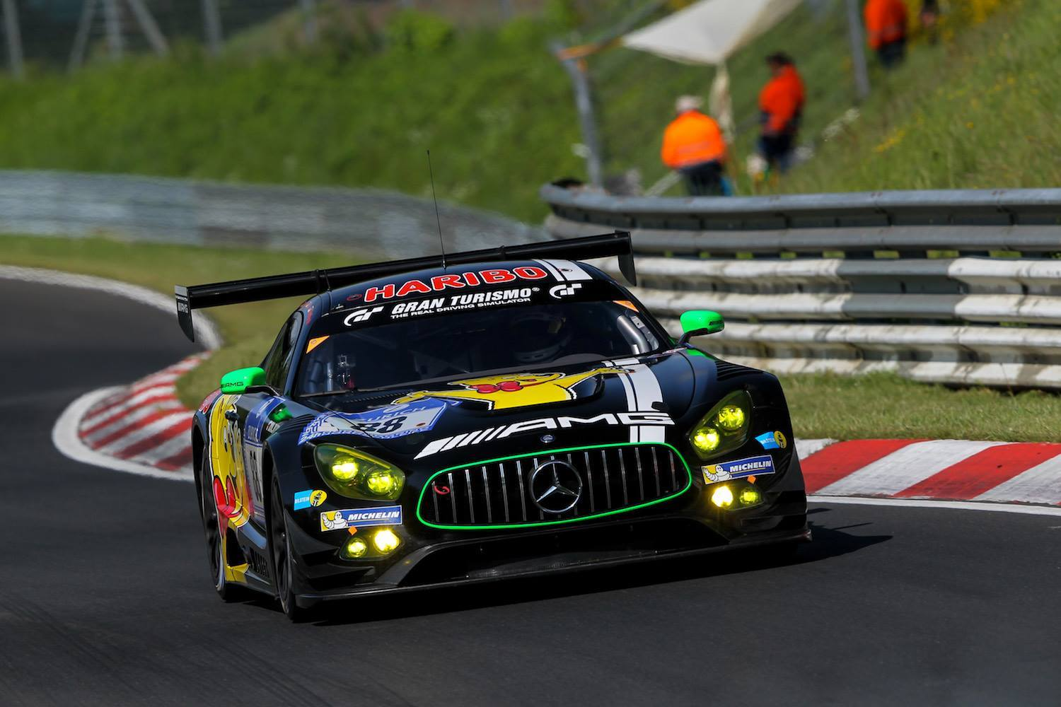 Black Falcon Mercedes Amg Gt3 Grabs Nurburgring 24 Hours