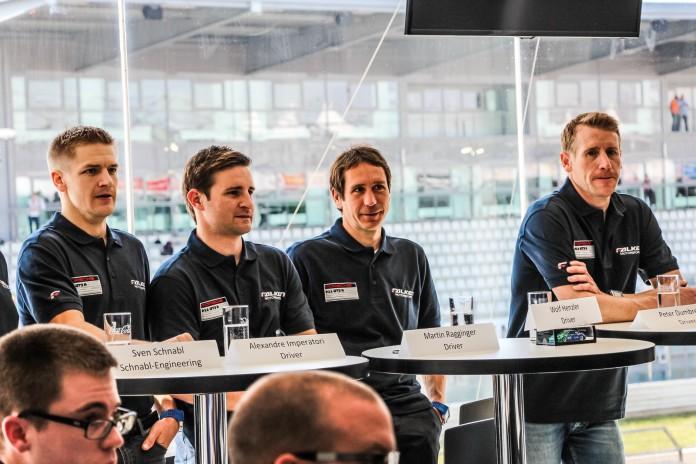 Nurburgring 24 Hour 2016 Falken Press Conference