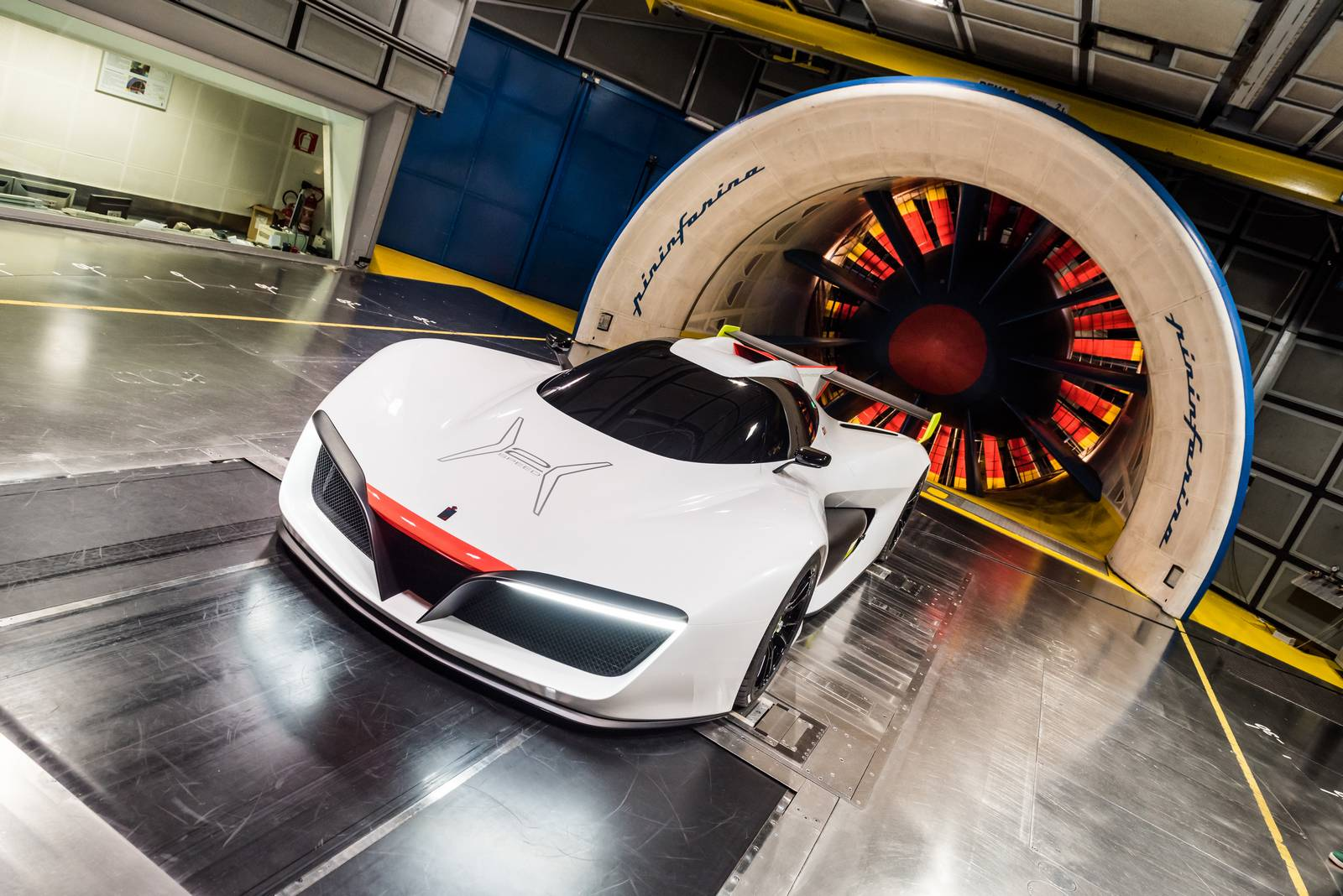 photo of the day pininfarina h2 speed in the wind tunnel gtspirit rh gtspirit com