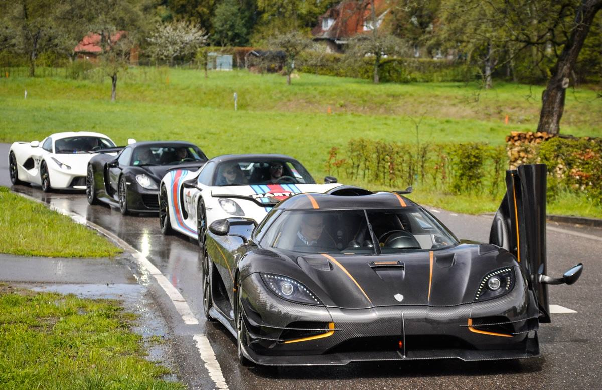 Supercar Owners Circle Hypercar Gathering In Stuttgart
