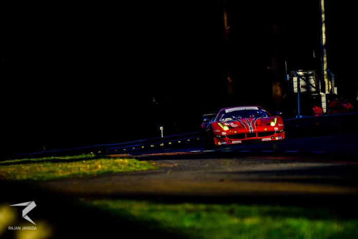 62 SCUDERIA CORSA FERRARI 458 ITALIA - William SWEEDLER USA, Towsend BELL USA, Jeffrey SEGAL USA --2