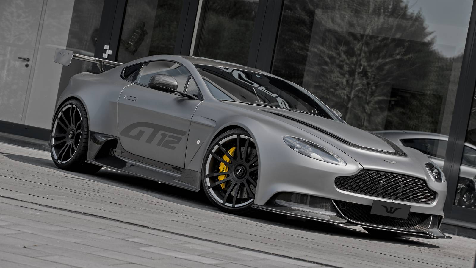 Official Aston Martin Vantage Gt12 By Wheelsandmore