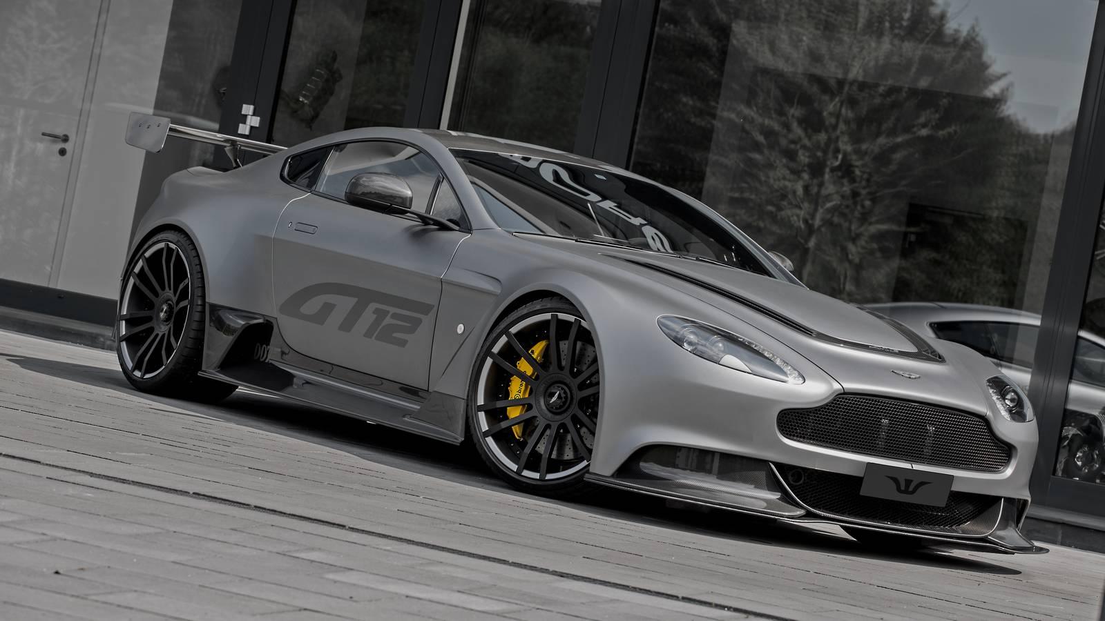 Official Aston Martin Vantage Gt12 By Wheelsandmore Gtspirit