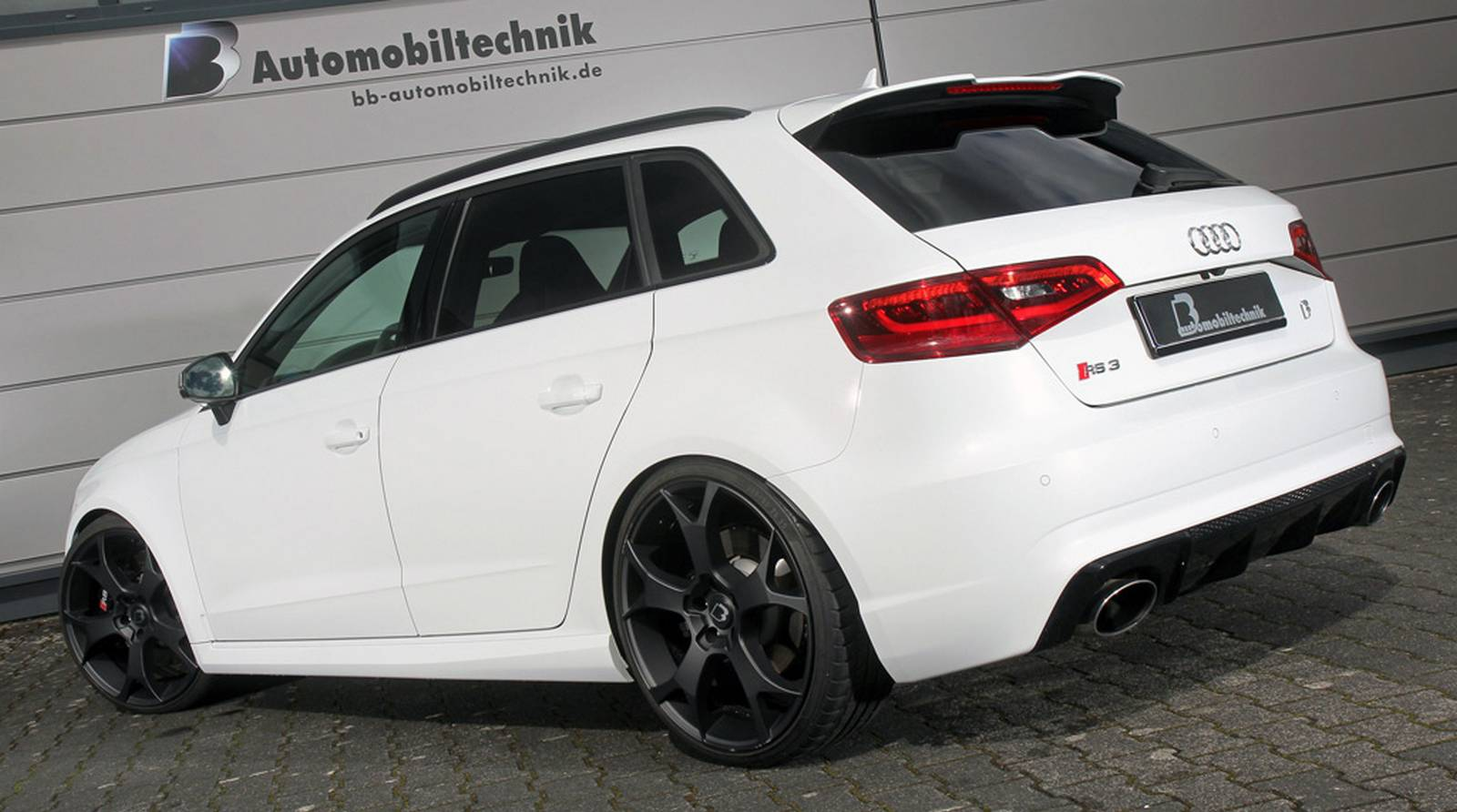 550hp audi rs3 8v by b b automobiltechnik gtspirit. Black Bedroom Furniture Sets. Home Design Ideas