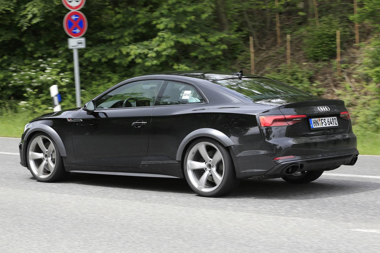 2018 Audi RS5 Test Mule Spy Shots - GTspirit