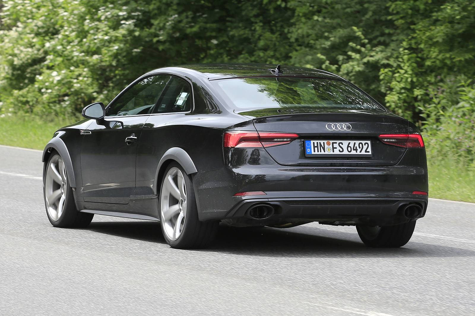2018 Audi Rs5 Test Mule Spy Shots Gtspirit