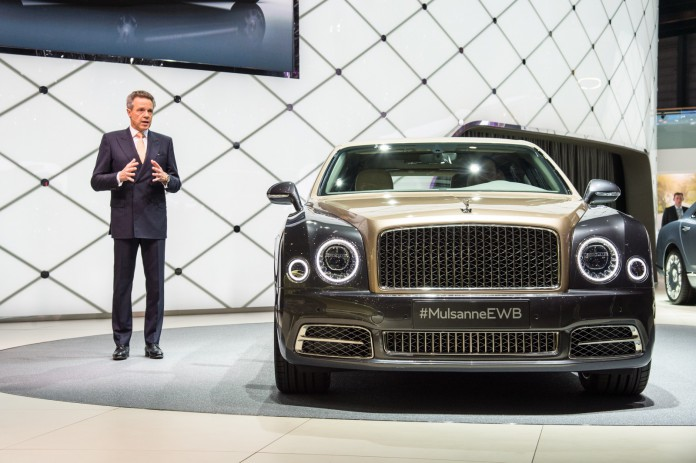 Bentley at Geneva Motor Show 2016