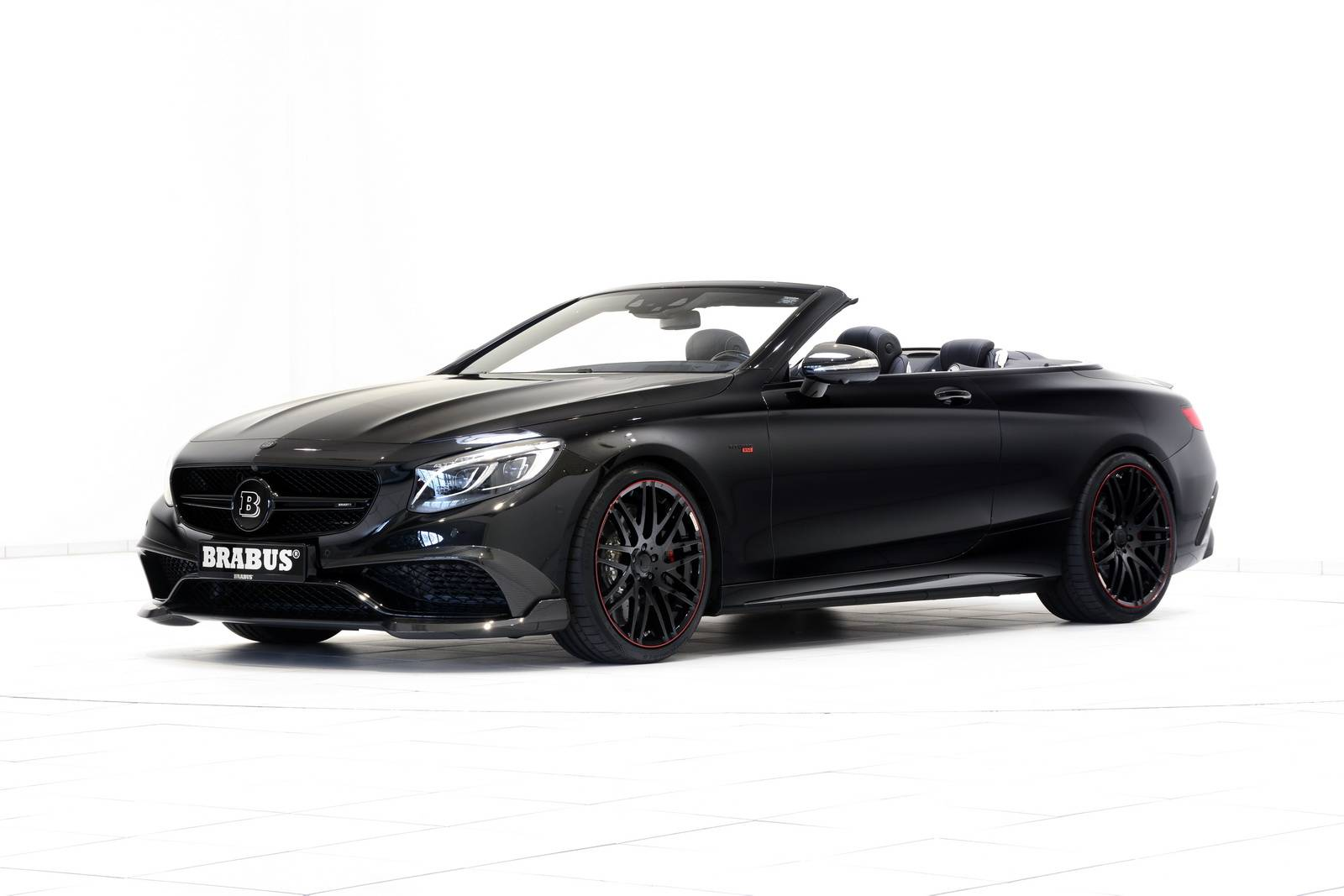 Official 850hp Brabus Mercedes Amg S63 Cabriolet on maybach cabriolet
