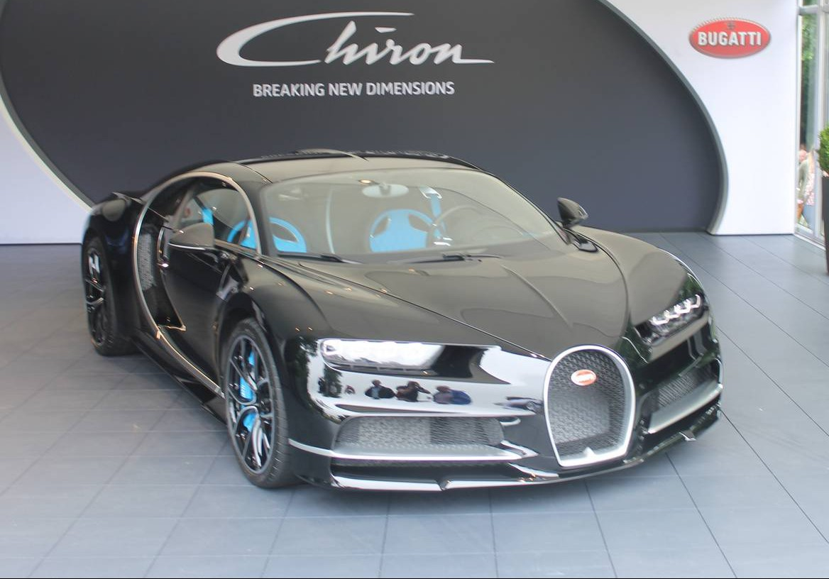 bugatti chiron black edition - photo #20