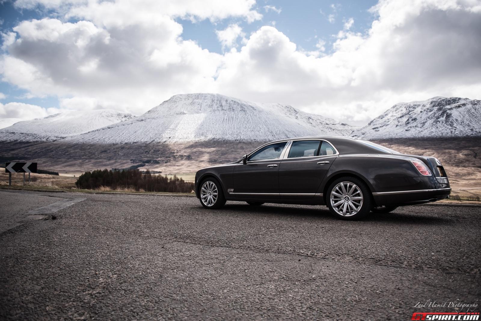 Bentley Mulsanne in the Highlands