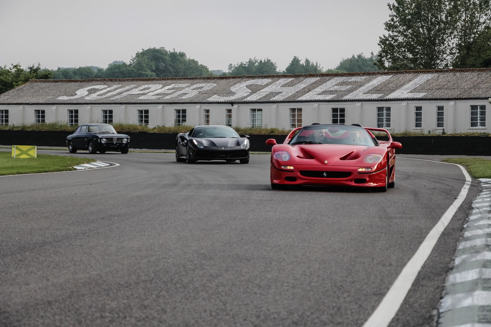 Goodwood Breakfast Club 2016 Full Throttle Ferrari F50