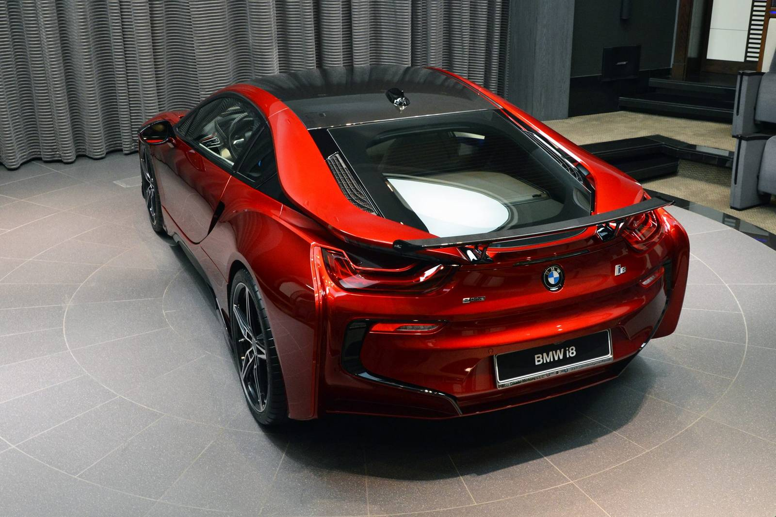 Lava Red BMW I8 1 Of 20 This