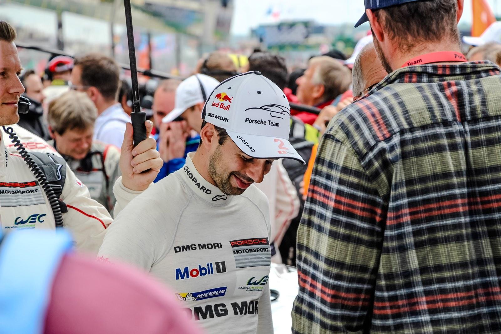 Le Mans Grid Walk 2016