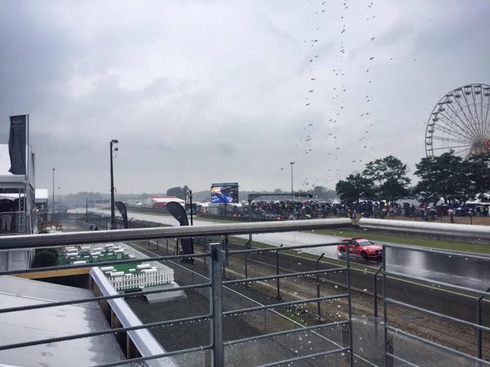 Le Mans in the Rain