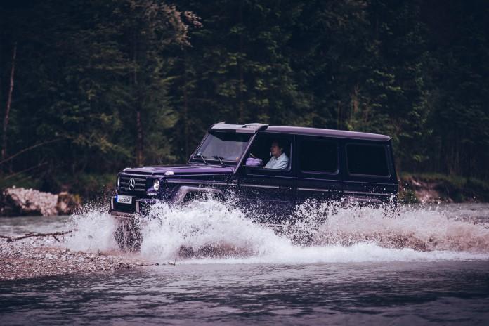 Mercedes-Benz G500 4x4²