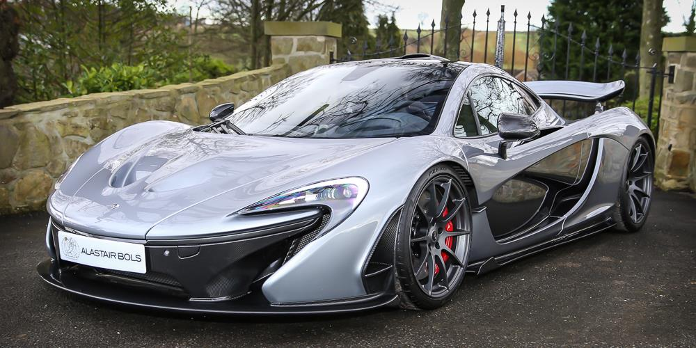 titanium silver mclaren p1 for sale in the uk at 163165