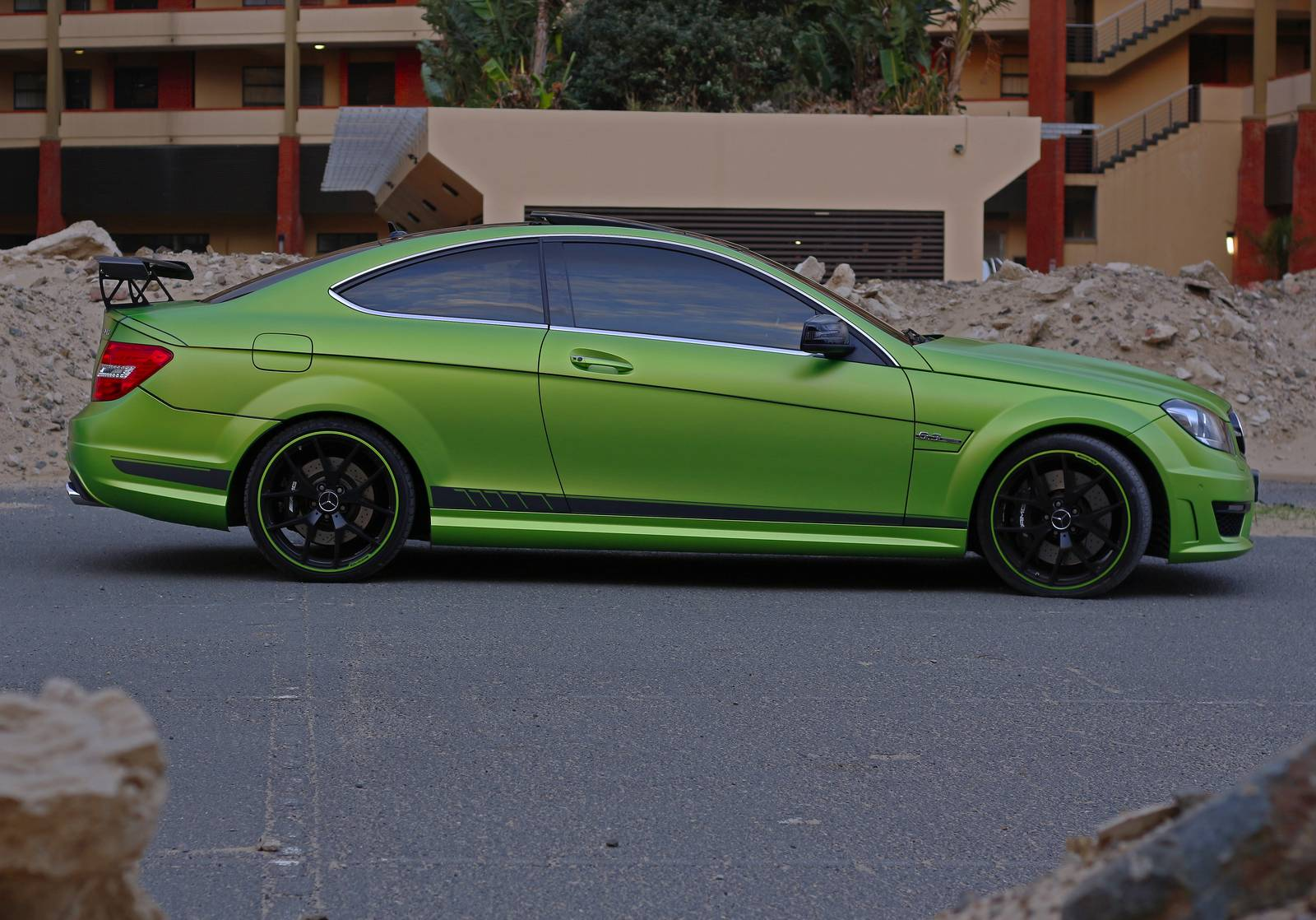 1 Of 10 Mercedes Benz C63 Amg Coupe Legacy Edition In