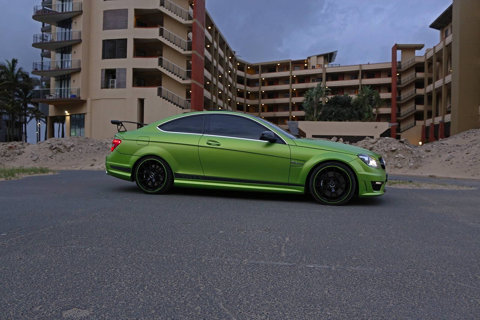 1 of 10 mercedes benz c63 amg coupe legacy edition in south africa gtspirit. Black Bedroom Furniture Sets. Home Design Ideas