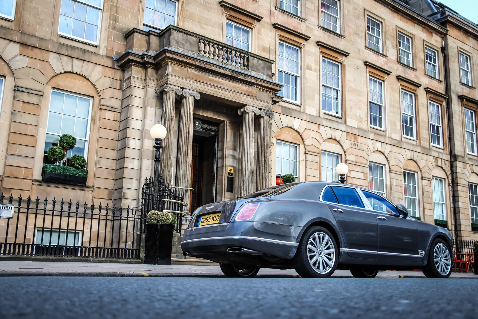 Bentley Mulsanne at the Blythswood Glasgow