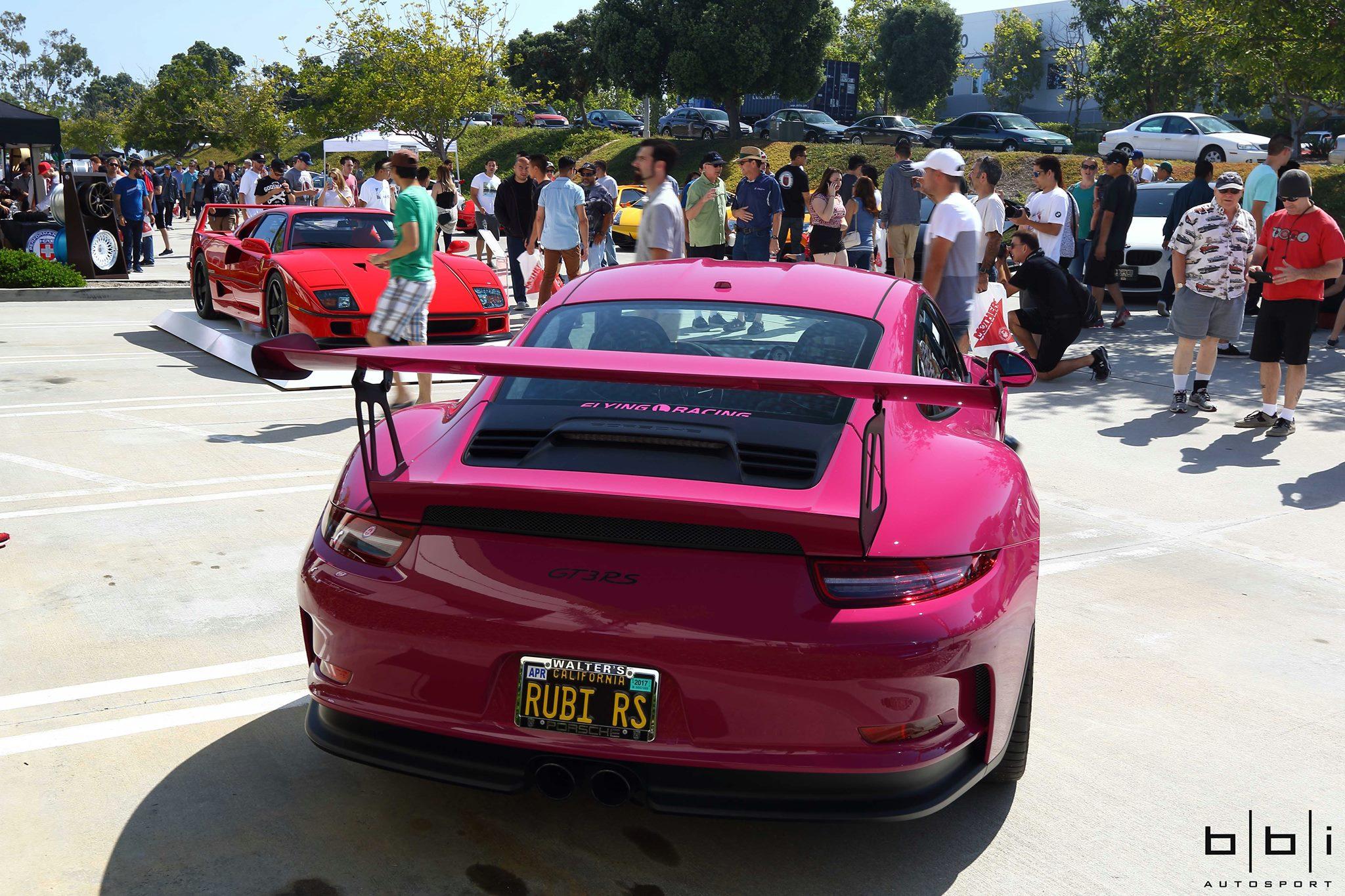 Incredible Pts Ruby Star Porsche 911 Gt3 Rs Gtspirit