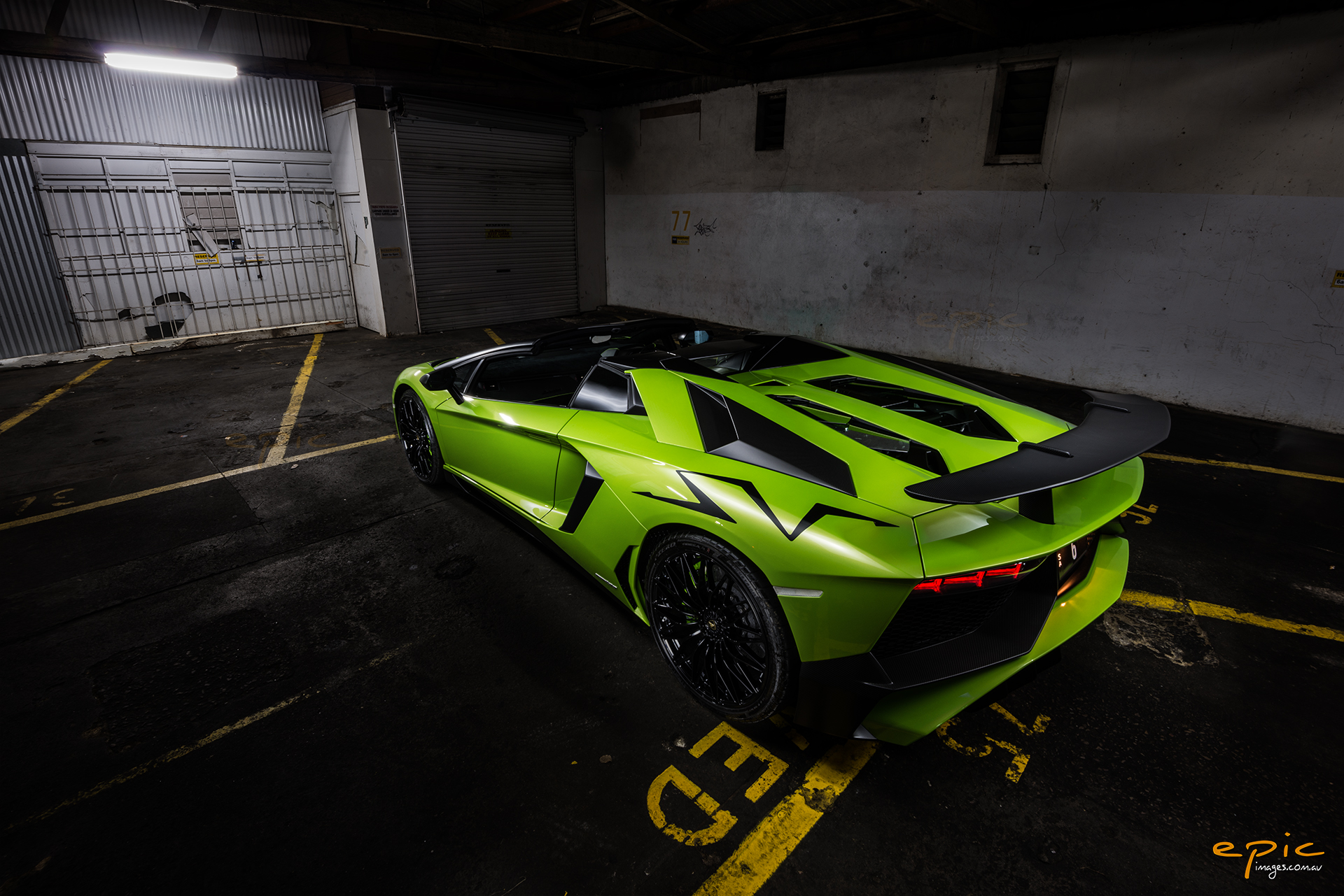 Photo Of The Day Lamborghini Aventador Sv Roadster Gtspirit