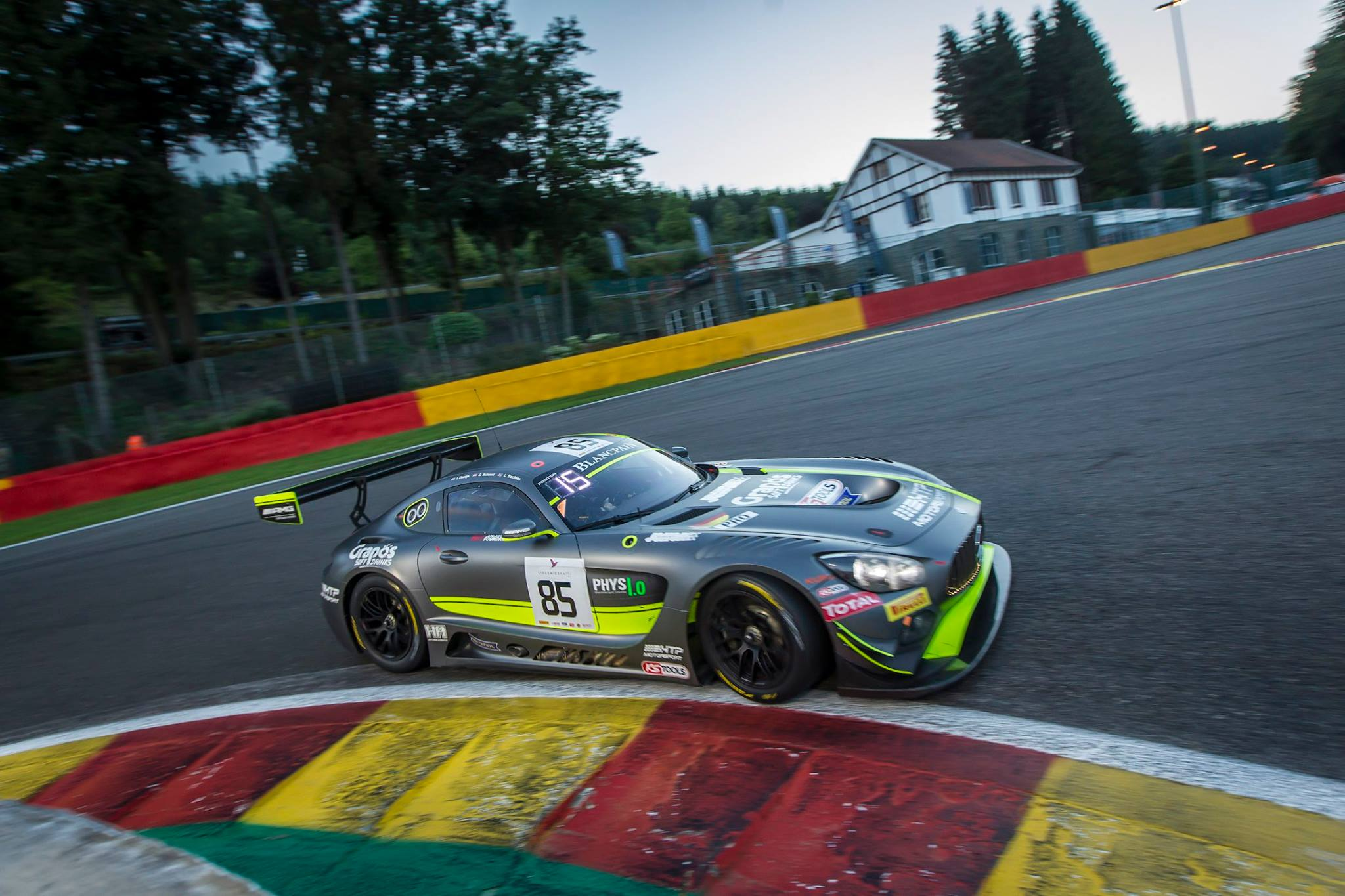 24 Hours of Spa: Mercedes-AMG Wins Pole by Filling Top Six Spots