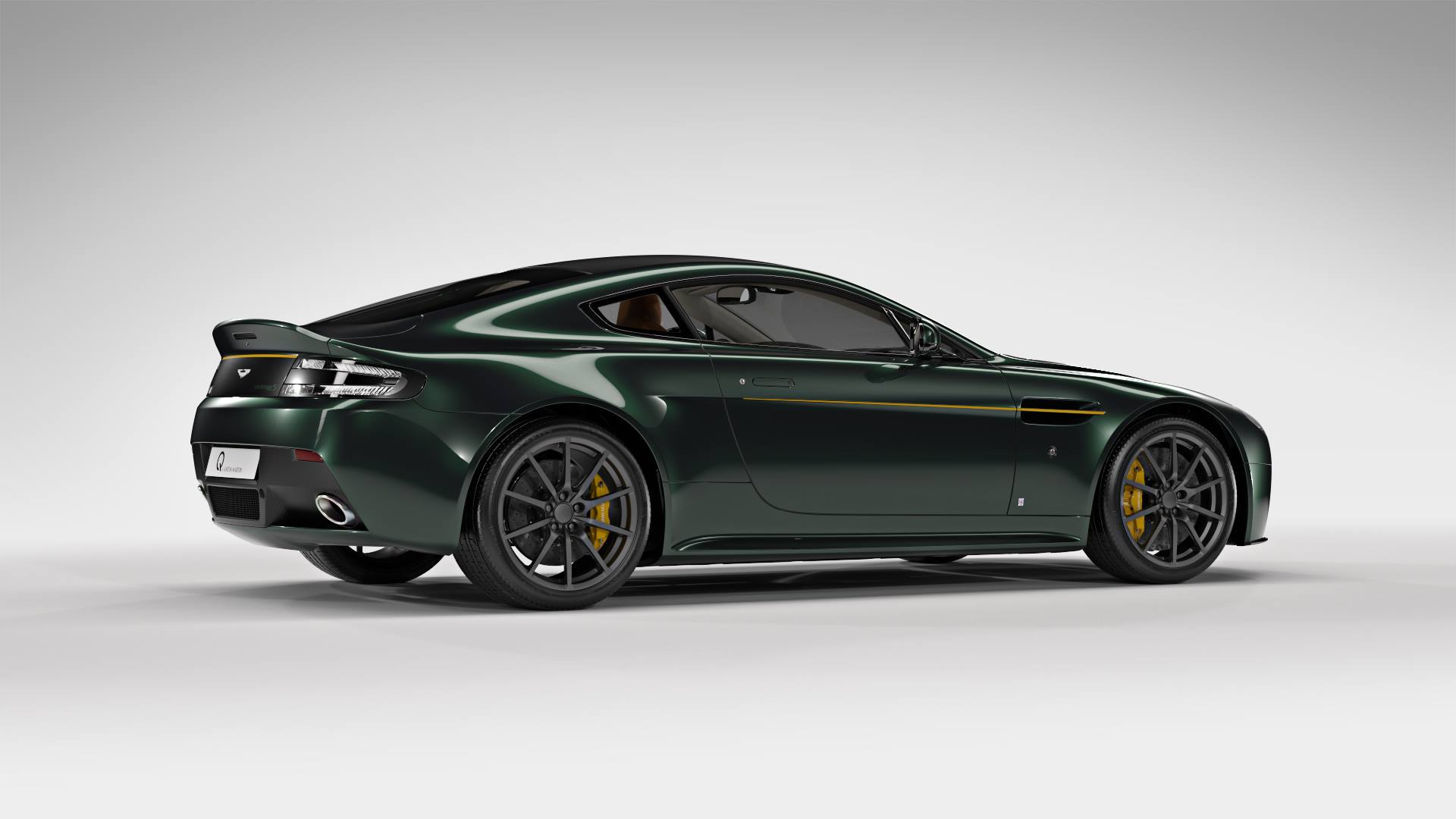 official aston martin v12 vantage s spitfire 80 gtspirit. Black Bedroom Furniture Sets. Home Design Ideas