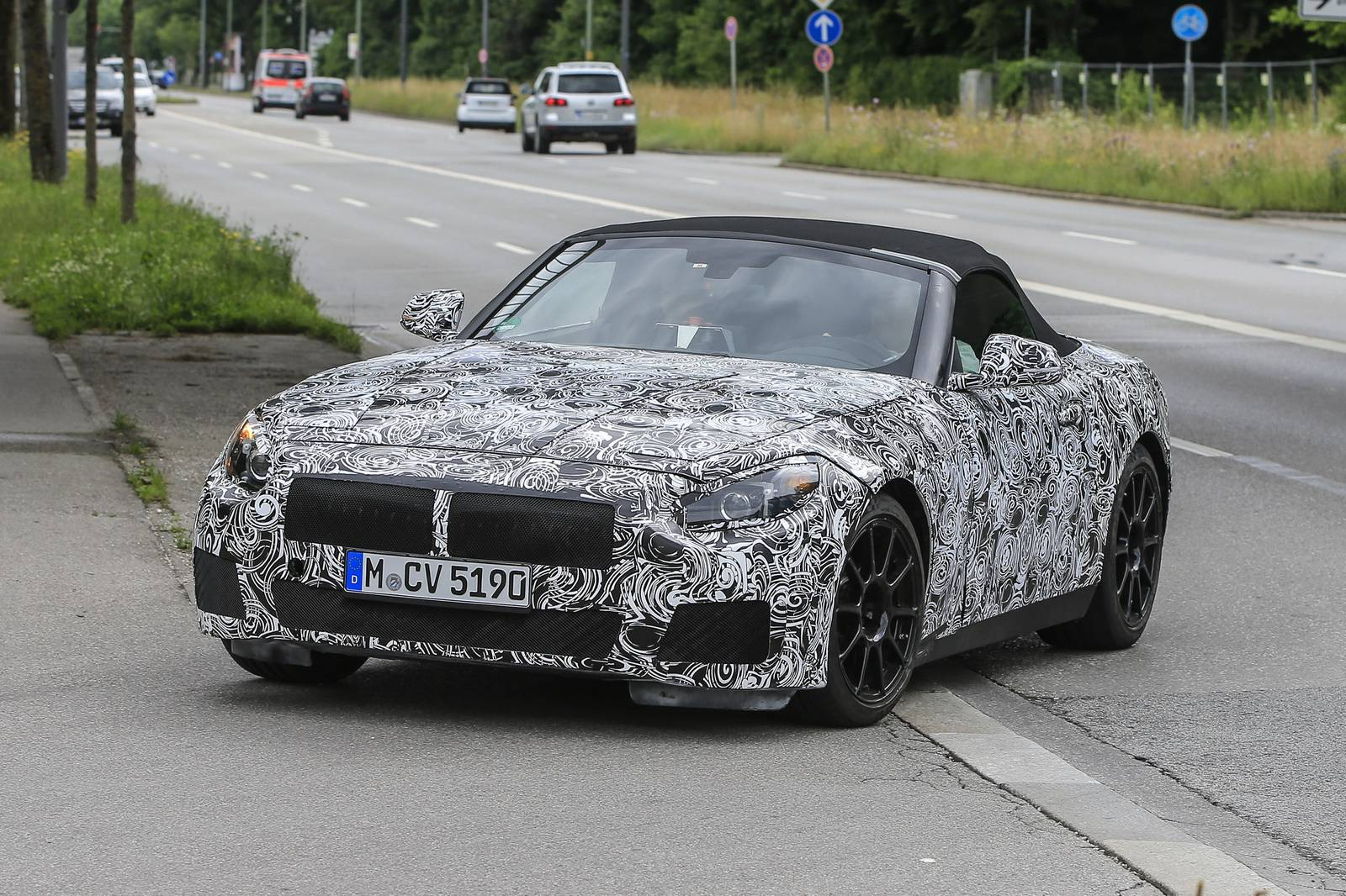 2018 BMW Z5 Roadster Latest Spy Shots - GTspirit