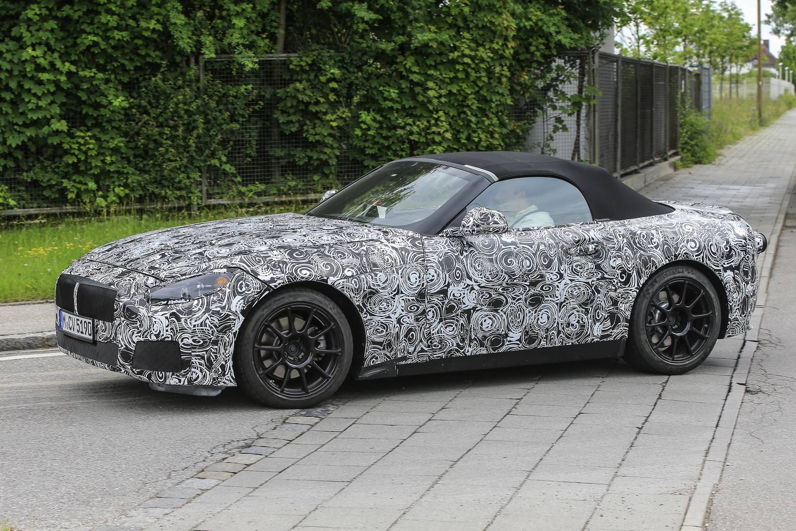 2018 Bmw Z5 Roadster Latest Spy Shots Gtspirit