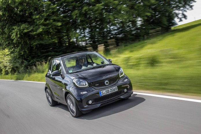 smart BRABUS Press Test Drive 2016, smart BRABUS fortwo; Exteri