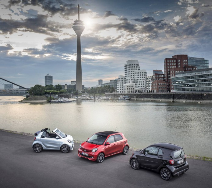 BRABUS Press Test Drive 2016; smart BRABUS fortwo cabrio; Exte
