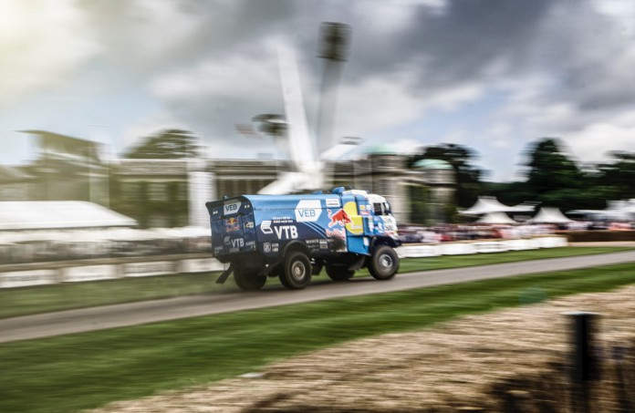 Kamaz at the Goodwood Festival of Speed 20169