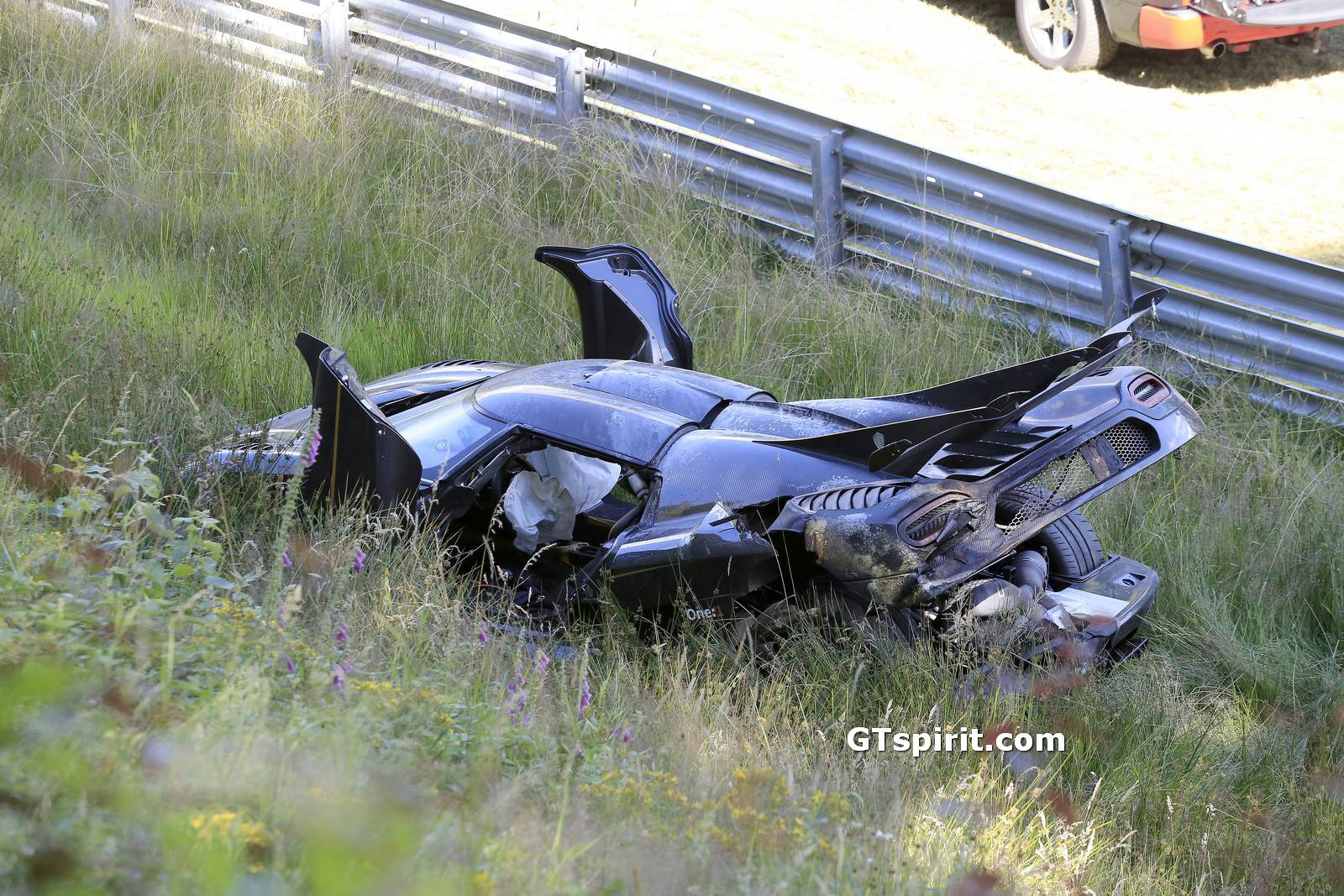 Koenigsegg One Interior >> Koenigsegg One:1 Crashes at the Nurburgring During Testing (with Video) - GTspirit