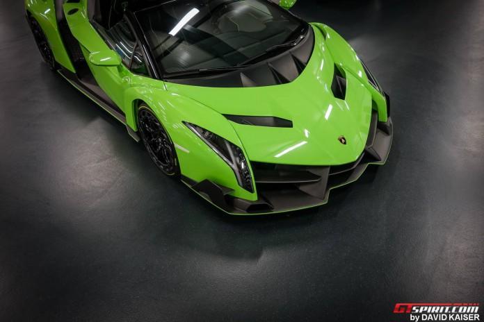 Lamborghini Reventon Roadster - Chassis #9 Verde Miura