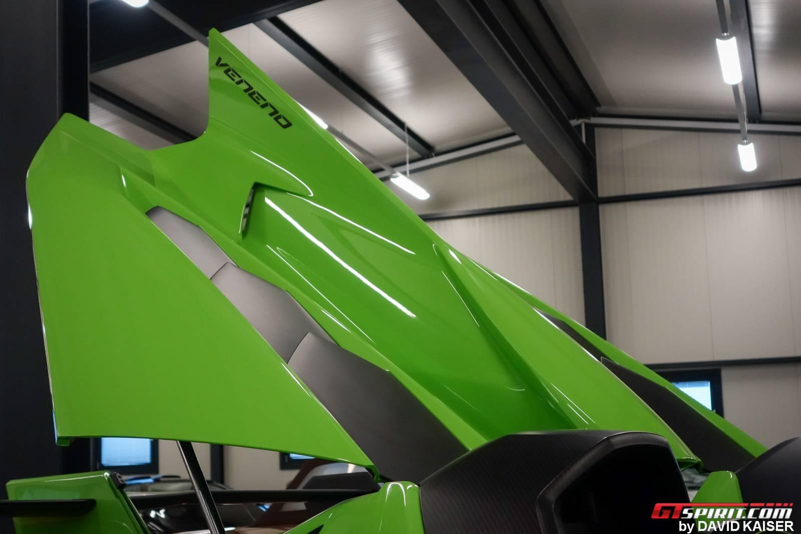 Meet The Last Lamborghini Veneno Roadster Chassis 9 In Verde Miura Color Gtspirit
