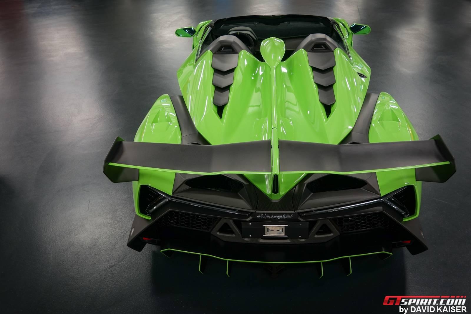 Meet The Last Lamborghini Veneno Roadster Chassis 9 In Verde
